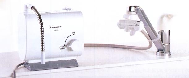 卓上型アルカリイオン水生成器