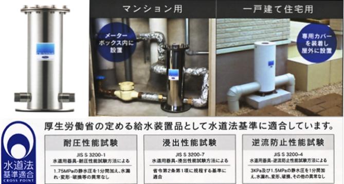 セントラル浄水システム光水MS
