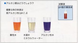 ペーハー試薬テスト
